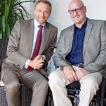 Christian Lindner und Lothar Esser